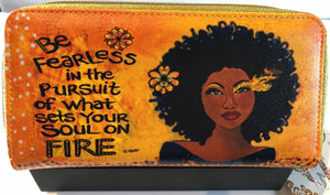 Be Fearless Long Wallet