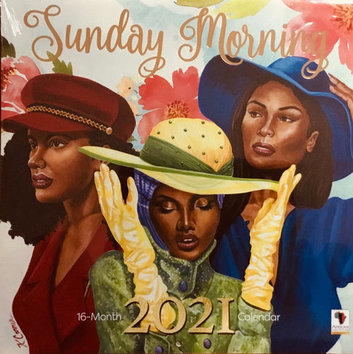 NEW!!! 2021 Sunday Morning Wall Calendar