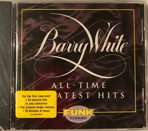 Barry White  Greatest Hits CD