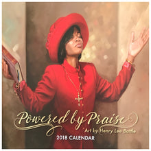 Powered by Praise  Wall Calendar 2018