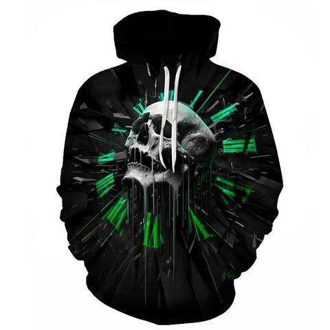Time Fragment 3D Hoodie - HoodieArt