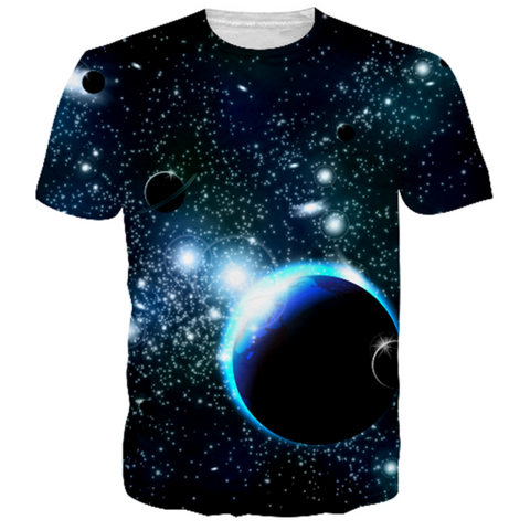 Outer Space 3D T-Shirt - HoodieArt