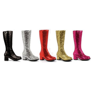 "1.75"" Heel Childrens Glitter Gogo Boot."