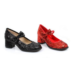 "1.75"" Heel Glitter Maryjane Childrens."
