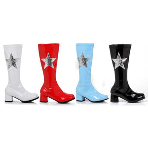 "1.75"" Heel Gogo Boot With Star. Children"