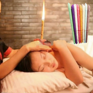 10pcs Yoga Medical Ear Candle Treatment Fragrance Candling Indiana Therapy Candles