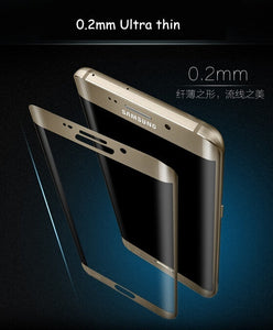 0.2mm 3D Full Coverage Curved Tempered Glass Protector Film for Samsung Galaxy S7 Edge/S7 /S8 Plus/S8 /S6 Edge/ S6 Edge Plus/ No