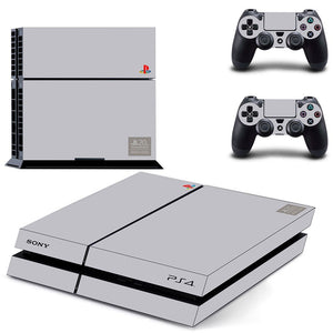20th Anniversary The Limited Edition Vinyl Stickers For Playstation 4 PS4 Console + 2 PCS Skin For PS4 Controllers