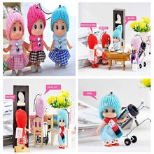 2 Pcs Kids Toys Soft Interactive Baby Dolls Toy Mini Doll For Girls Random Colors