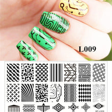1Pc Nail Art Stamp Template Image Plate BORN PRETTY BP-L003 12.5 x 6.5cm