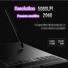 2017 Creative  draw 708 s digital plate  Intelligent electronic drawing board hand-painted plate  computer electronic drawing bo