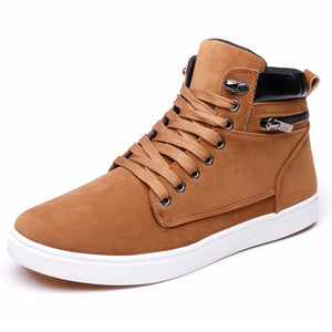 2016 New Mens Fashion Sneakers High Top Sneakers Autumn Winter Ankle Boots,Martin Boots