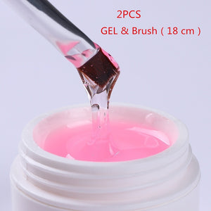 2017 Original LINA Manicure UV GEL Phototherapy Glue Nail Gel Based Adhesive Glue Gel Polish Tool Manicure Kits