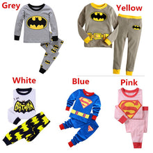 2 Pcs Sets Baby Boys Girls Sleepwear Kids Cartoon Cotton Long Sleeve Pajamas Sets Children Pyjamas
