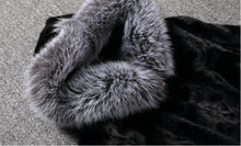 2016 Winter Furry Fashion Women Hooded Coat Faux Fur White Black Rabbit Mink Fur Casual Overcoat