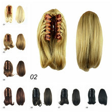 1pcs Women's Straight Ponytail Hairpiece Hair Extensions