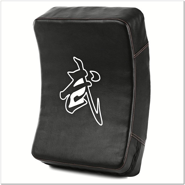 2017 Arc-shape Boxing Pad Punching Bag Karate Muay TKD Training Foot Target (Color: Black)