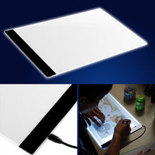 1 A4 LED Artist Thin Art Stencil Board Light Box Tracing Drawing Board Plate Set (Size: 33.5cm by 23.3cm)