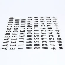(104pcs Replacement Letters & Numbers)104pcs Cinematic Lightbox Replacement Letters & Numbers Signs black for A4 MagiGlow Light