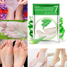 2017 Milk Bamboo Vinegar Remove Dead Skin Foot Skin Smooth Exfoliating Feet Mask Foot Care (Official authorization)  (Color: Mil