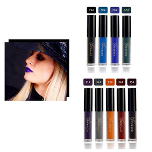 12pcs/Set Pop Ultra Matte Velvety Liquid Lipstick Matte Liquid Lipgloss / Waterproof Lip Gloss CPMR
