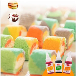1pc Edible Cream Baking Pigment Food Coloring Fondant Cake Coloring Paste Kitchen Accessories