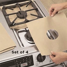 2pcs Reusable Stove Burner Covers Protector Stove Surface Protection Cover For Kitchen Cleaning Tools