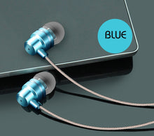 2017 latest In-Ear Earphones MP3 computer bass mobile phone universal metal wire magic earplugs
