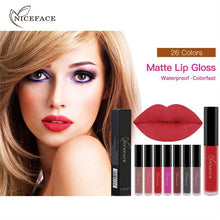 12pcs/Set Long Lasting Waterproof Ultra Matte Liquid Lipstick Moisturizer Beauty Makeup