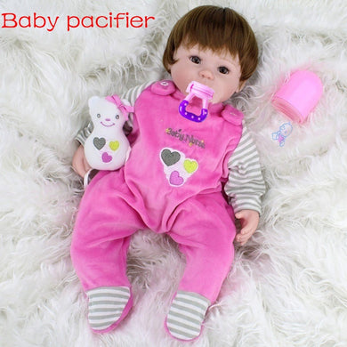 NEWEST FASHION Simulation Dolls  Reborn Doll Baby Toy Silicone Baby Housekeeping/training Toys Handmade Soft Body Cute Gift Baby