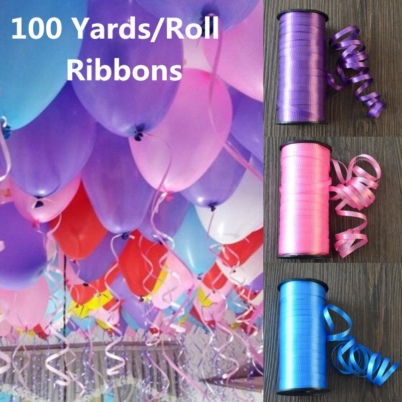 100 YardsRoll New Year 2018 Wedding Decoration Birthday Gift Ribbon