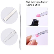 1 Pc 30ml Quick Building Poly Gel Nail Tips Finger Extension Glue Camouflage Nail Art UV Builder Gel Nail Tips Extension Tools