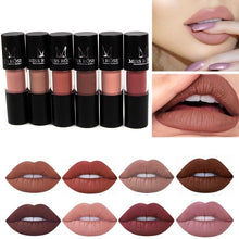 12 Color Charming Women Fashion Cylindrical Matte Lipstick Non-Stick Cup Lip Glosses Long Lasting Waterproof Lip Balm Sexy Charm