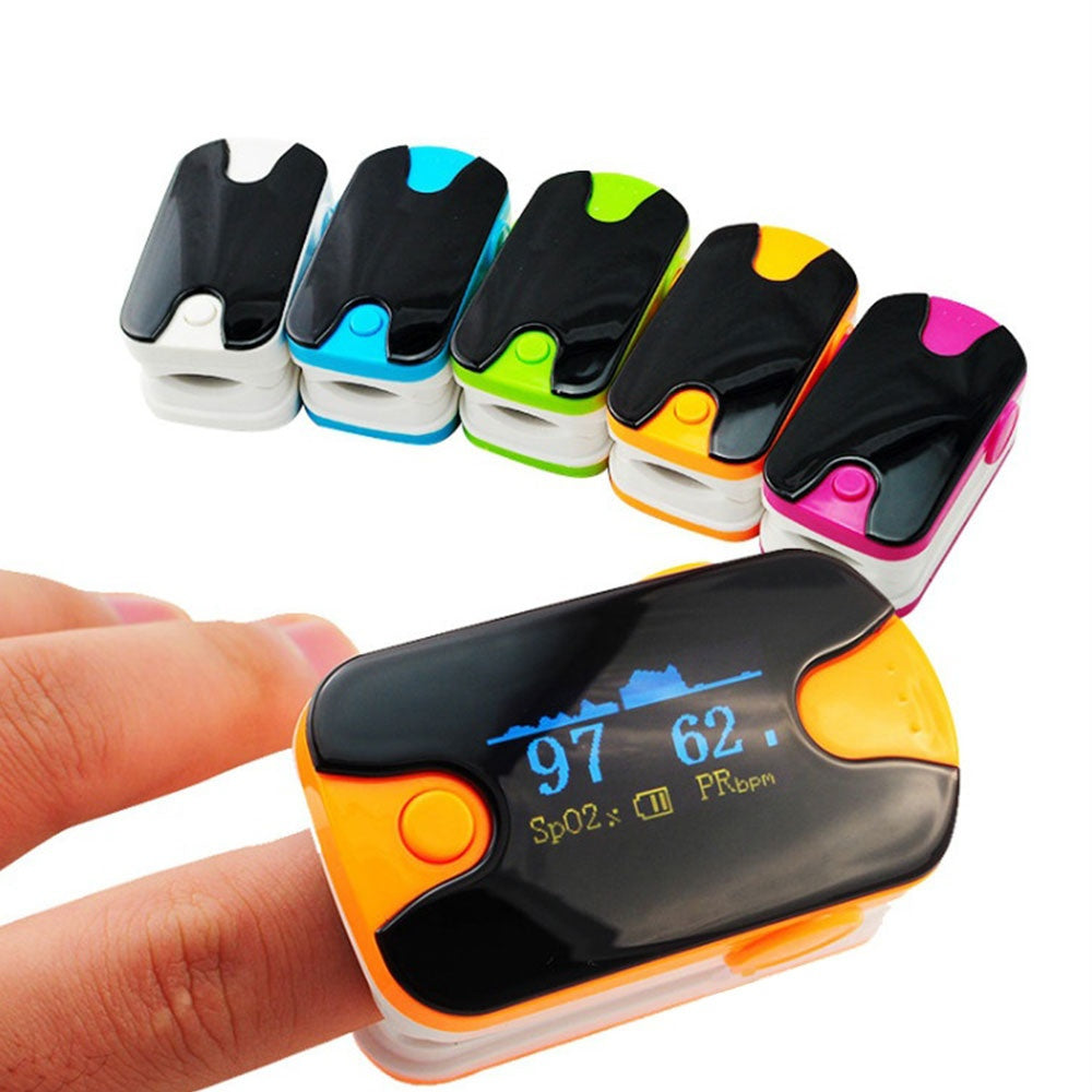 100% Warranty!! Health Tester SPO2 Fingertip Pulse Oximeter