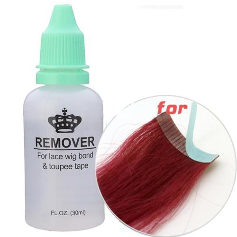 1pc Bottle 30ml Wig Adhesive Glue Remover Skin Tape Hair Extensions
