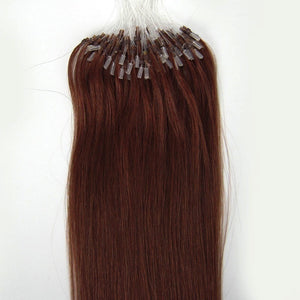 16inch-26inch Micro Ring Beads Loop Remy Human Hair Extensions Fashion Color Available for Women Beauty