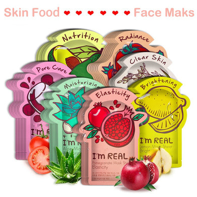 Sheet Face Mask Tony moly Moisturizing Facial Mask Oil Control Whitening Shrink Pores Korean Face Mask Skin Care Cosmetics