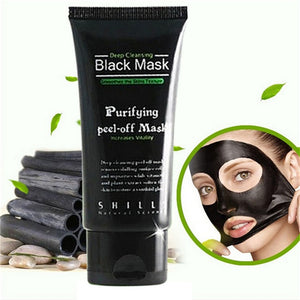 Deep Cleansing Black MASK purifying peel-off mask Clean Blackhead facial New Sweetbabe (Color: Black)