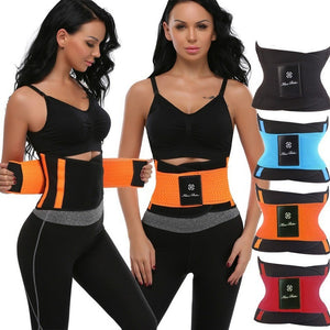 2018 Hot Xtreme Belt Power Slimming Belt Body Shaper Waist Trainer Trimmer Sport Gym Suana Sweating Fat Burning