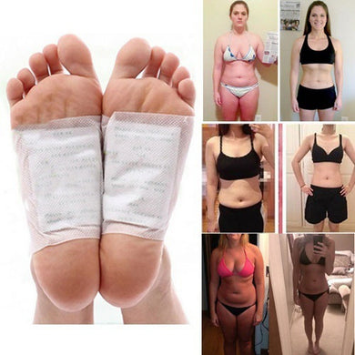 10 Pcs Detox Foot Patch Improve Sleep Slimming Foot Care Feet Stickers Weight Loss Products Effective Anti Cellulite Fat Burning