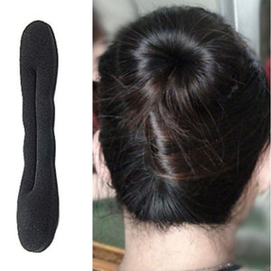 1PCS Hot Fashion Womens Sponge Disc Hair For Bud Head/Meatball Head Large Model Wholesale price