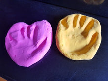 1 Package/50g Baby Care Air Drying Soft Clay Baby Handprint Footprint Imprint Kit Casting Without  Instructions