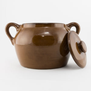 Bean Pot - Dark Brown