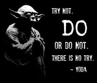 Yoda and one of his popular quotes