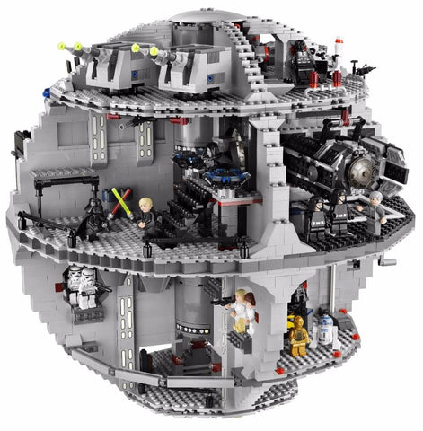 Death Star Model Building Blocks