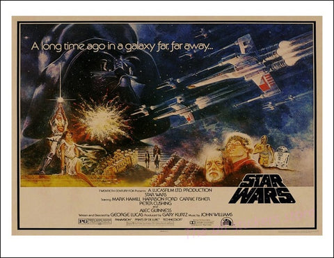 Star Wars poster 1977 New Hope