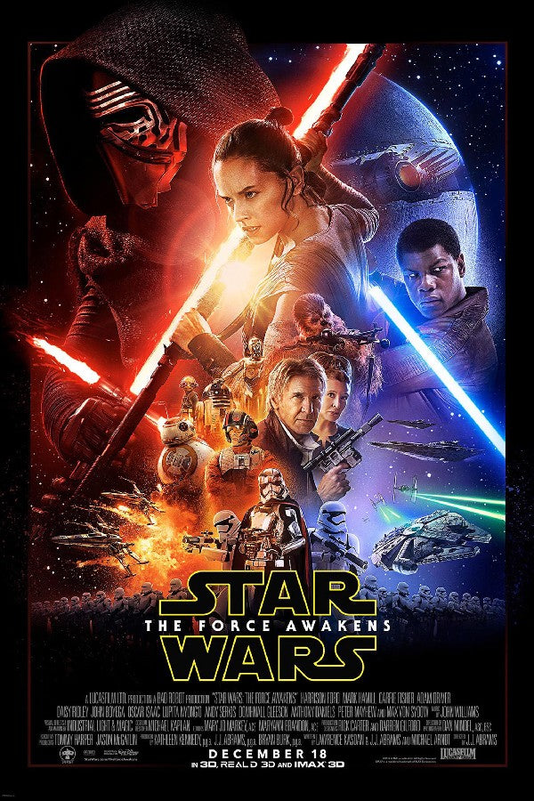 Star Wars Episode VII The Force Awakens Movie Posters