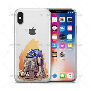 Star Wars Clear TPU Case Cover set #2 for iPhone