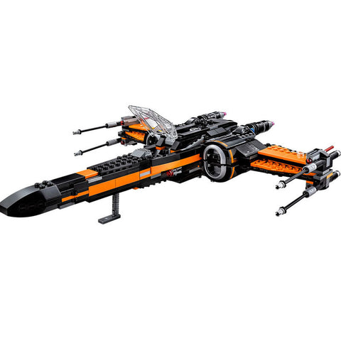 Star Wars The Force Awakens T-70 Peo's X -Wing Fighter Assembled