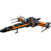 Image of Star Wars The Force Awakens T-70 Peo's X -Wing Fighter Assembled